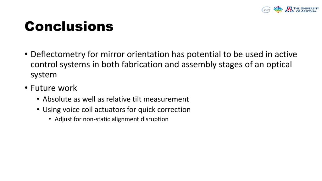 Deflectometry-based Measurement And Correction Of Mirror