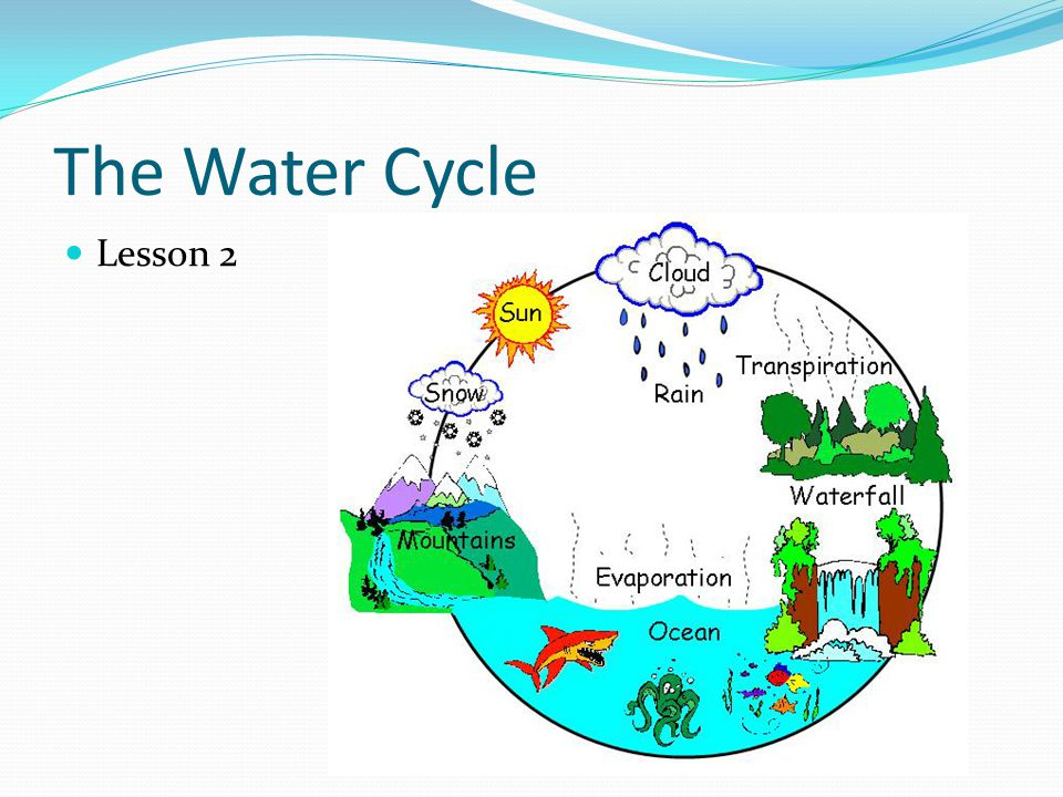 The Water Cycle Lesson 2