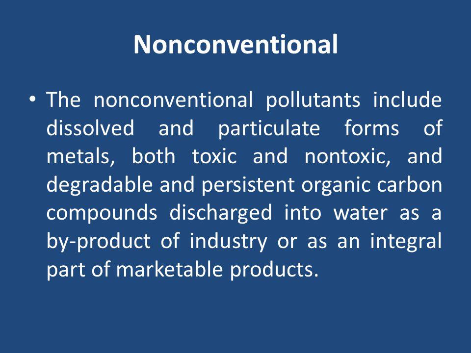 Nonconventional