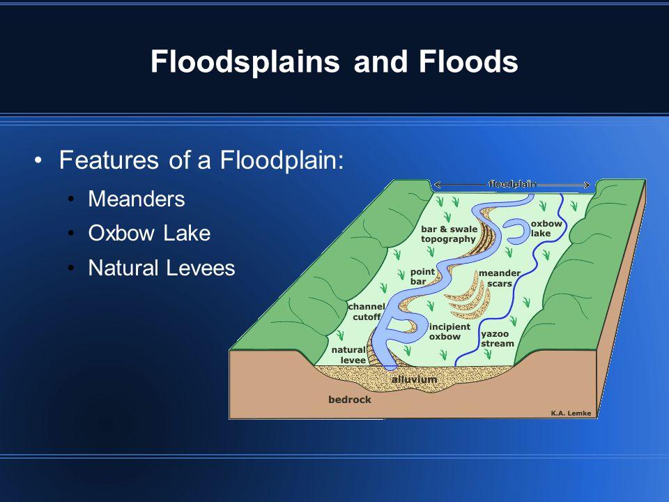 Floodsplains and Floods