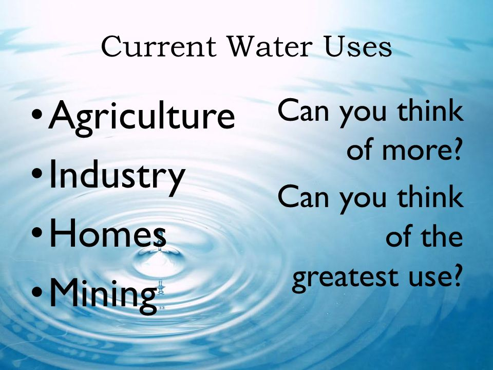 Agriculture Industry Homes Mining