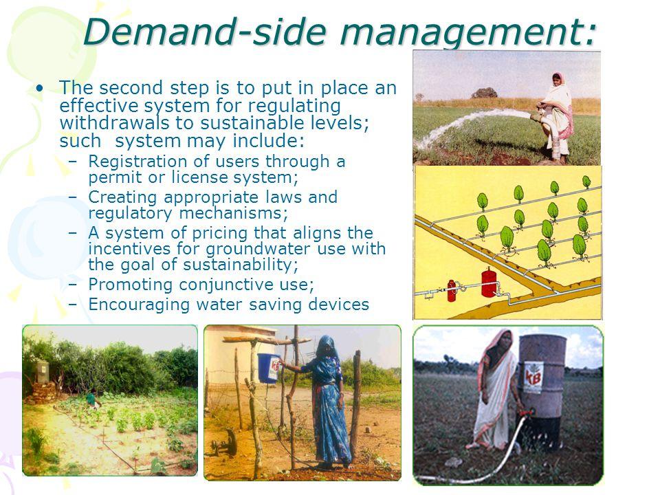 Demand-side management:
