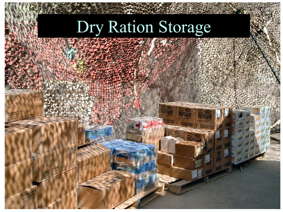 Dry Ration Storage