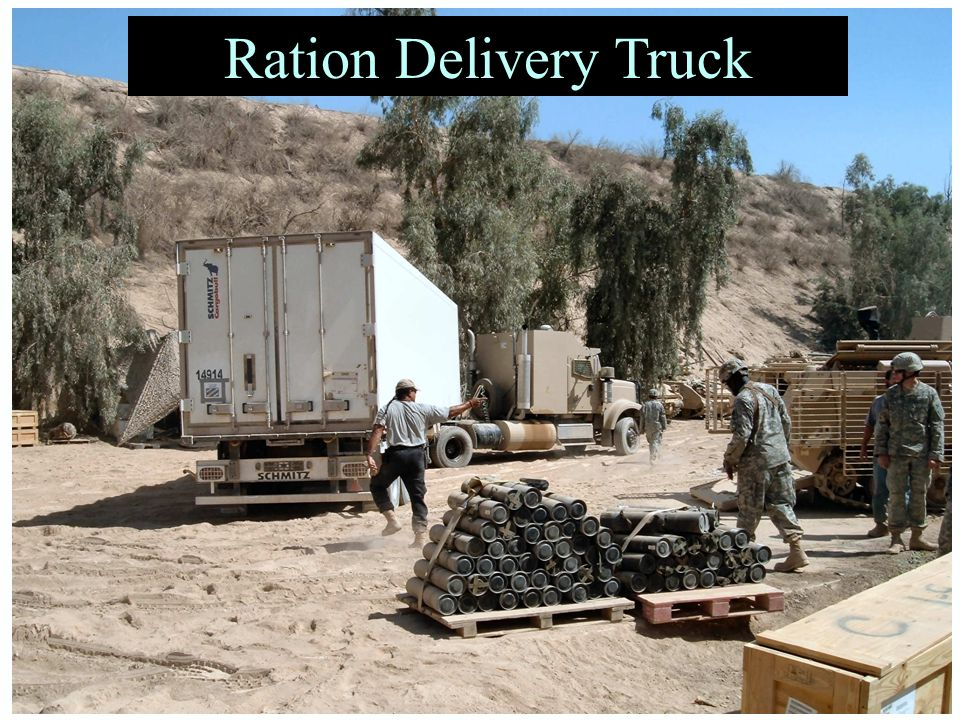 Ration Delivery Truck