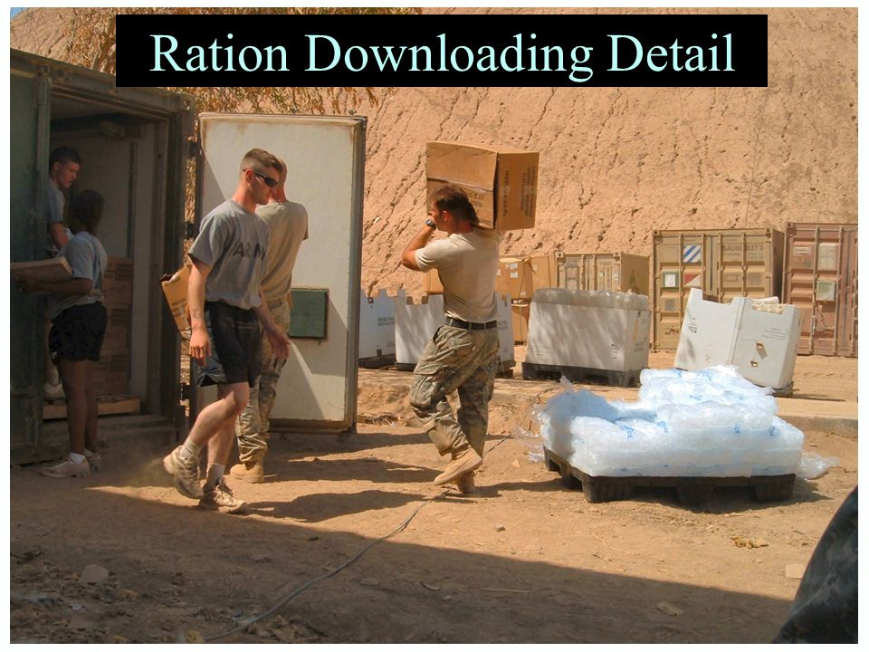 Ration Downloading Detail