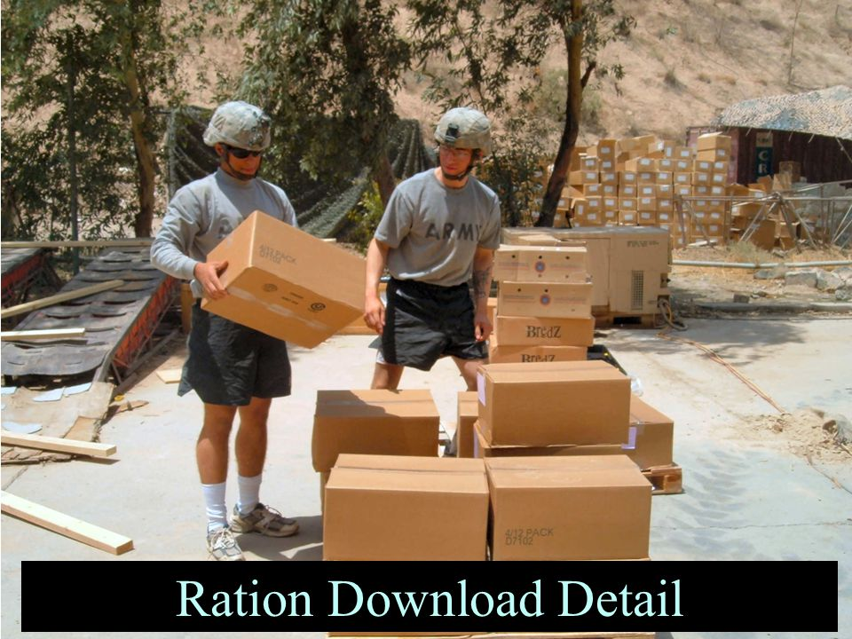 Ration Download Detail