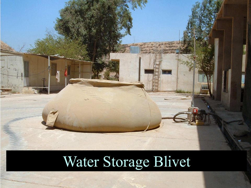 Water Storage Blivet
