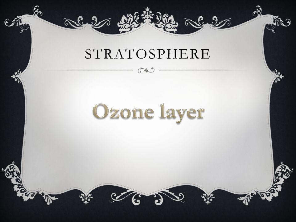 Stratosphere Ozone layer
