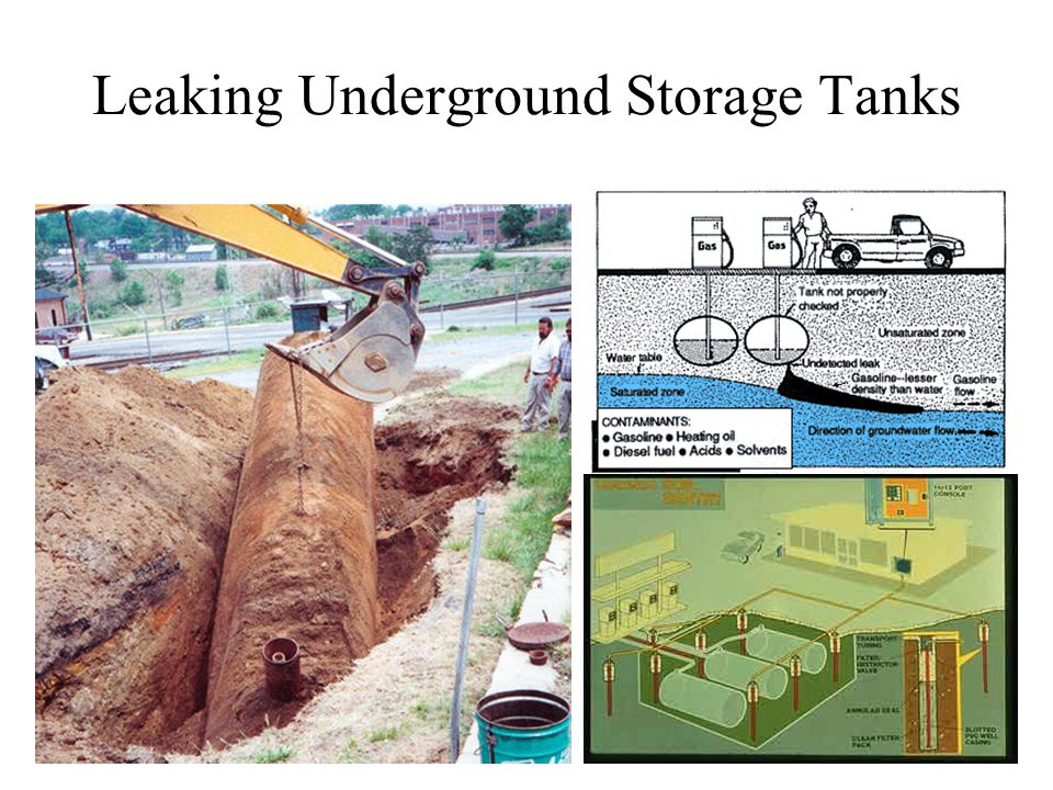 Leaking Underground Storage Tanks