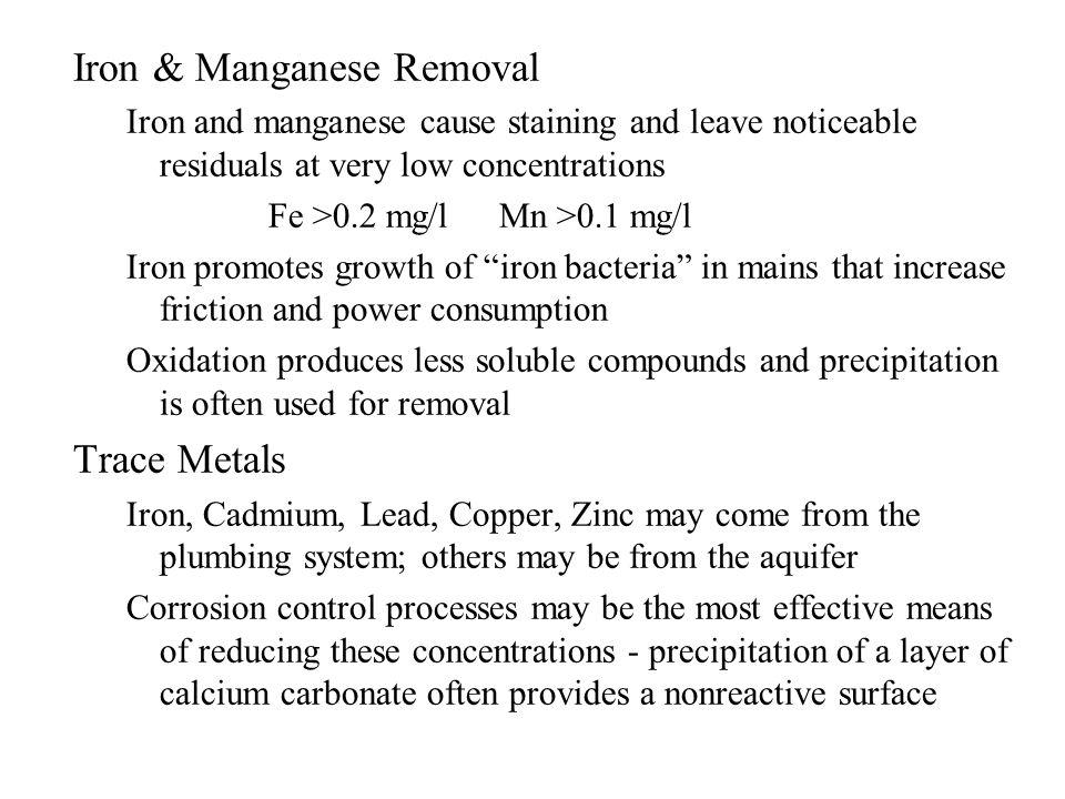 Iron & Manganese Removal