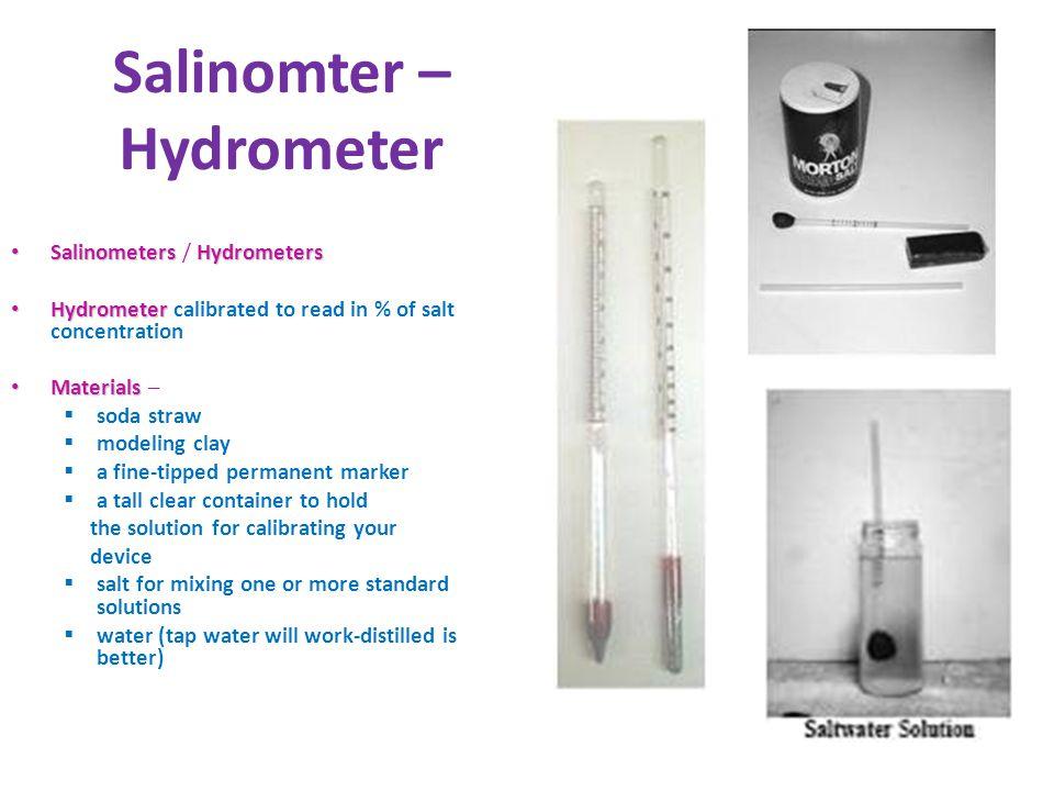 Salinomter – Hydrometer