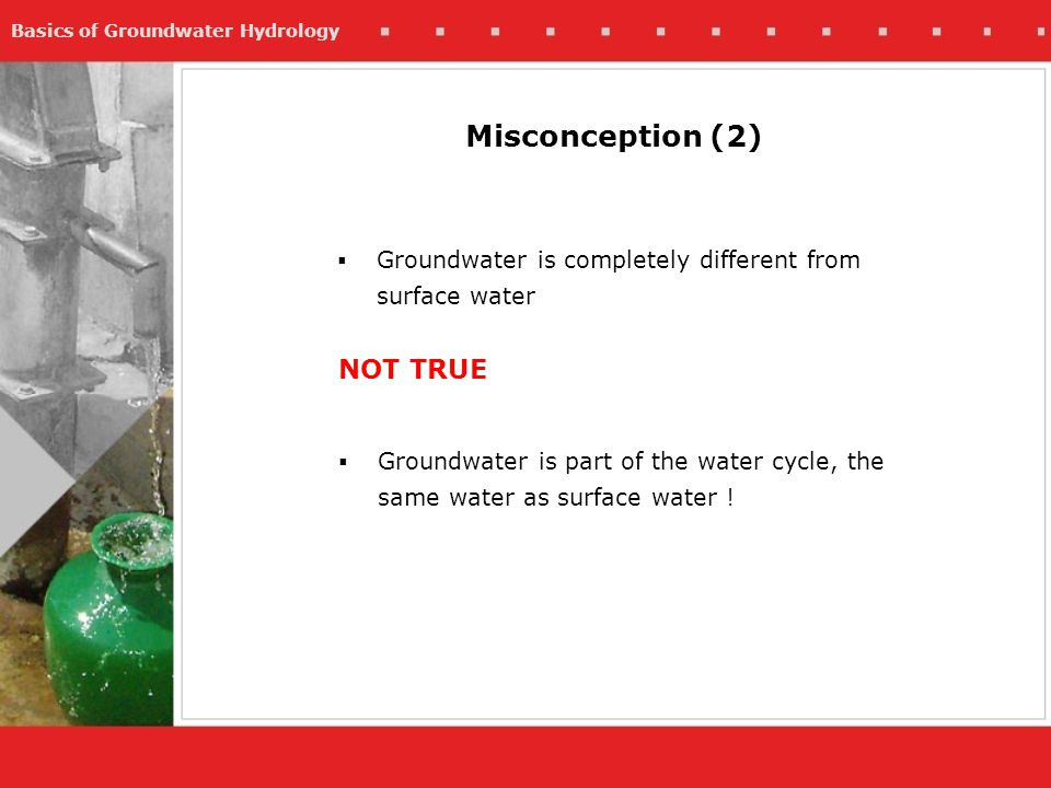 Misconception (2) NOT TRUE