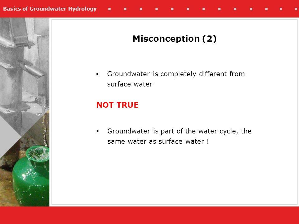 Misconception (2) NOT TRUE