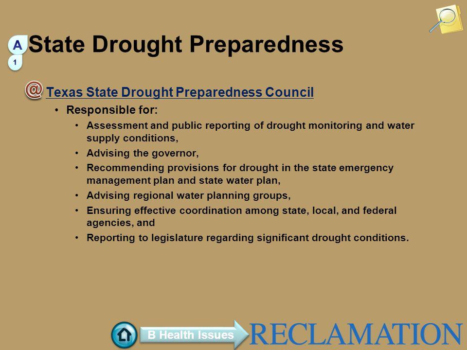State Drought Preparedness