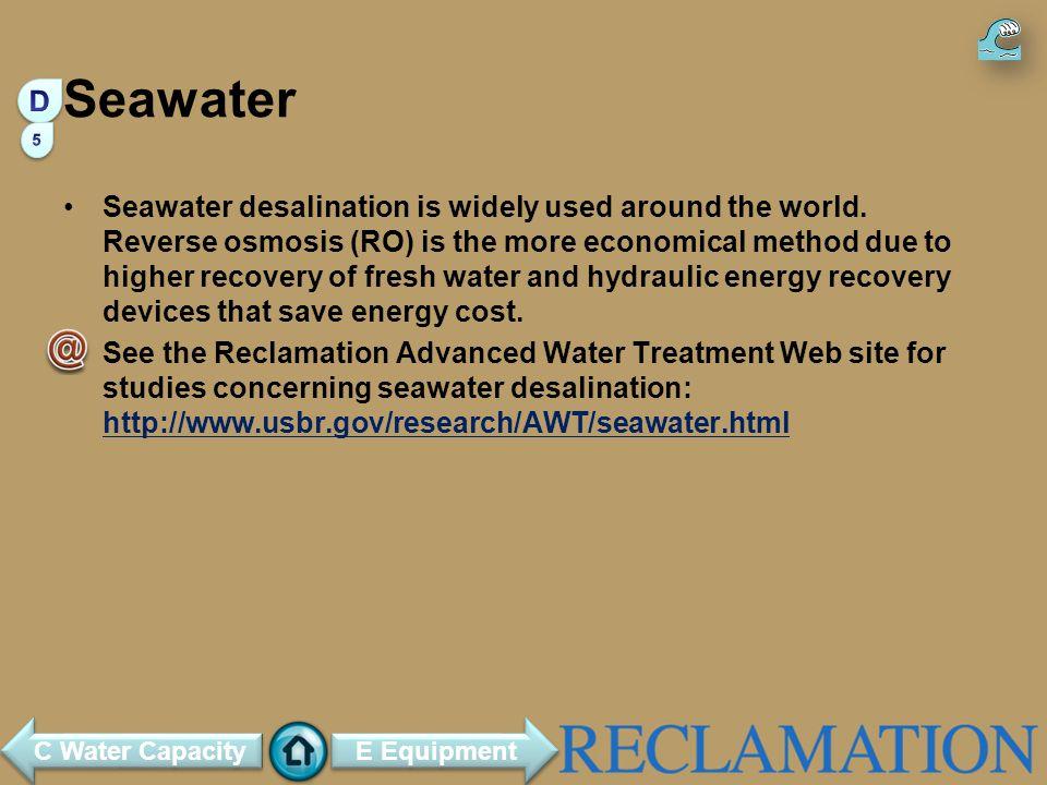 Seawater D. 5.