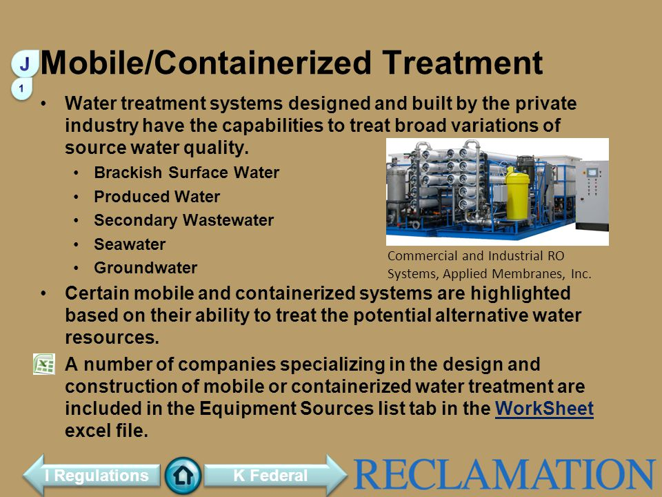 Mobile/Containerized Treatment