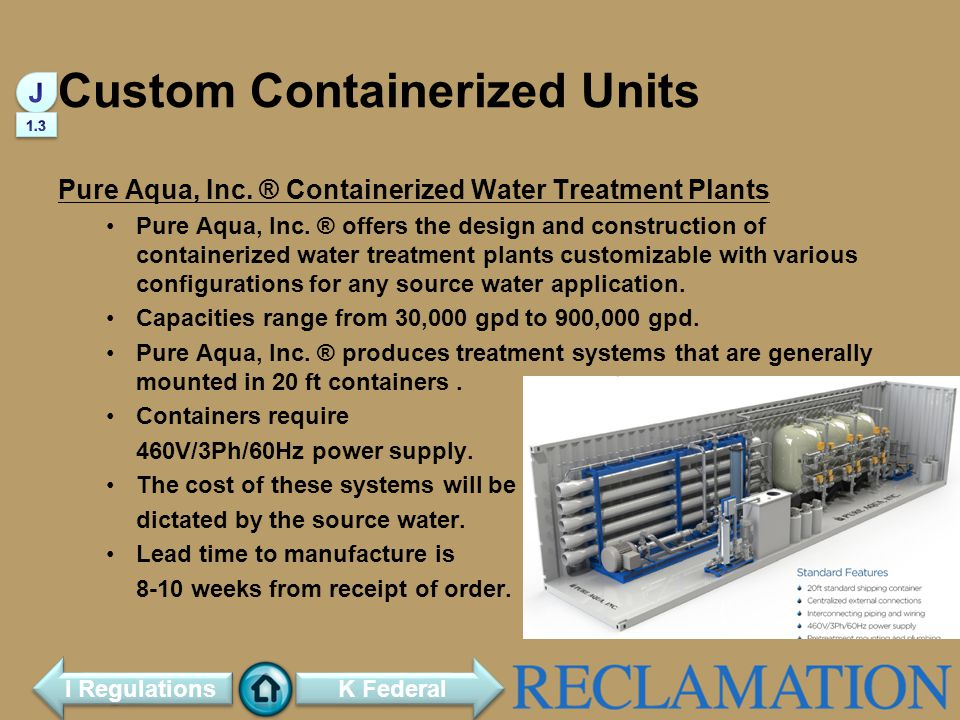 Custom Containerized Units