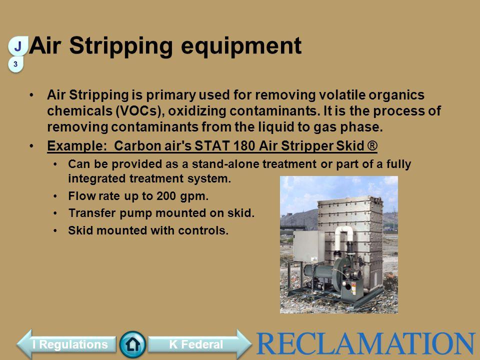 Air Stripping equipment