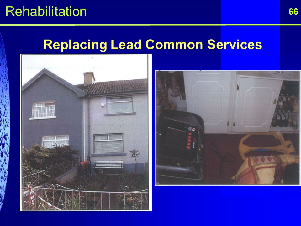 Replacing Lead Common Services