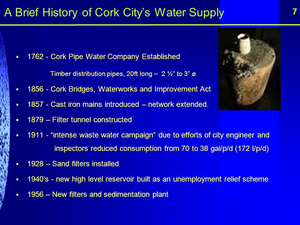 A Brief History of Cork City's Water Supply