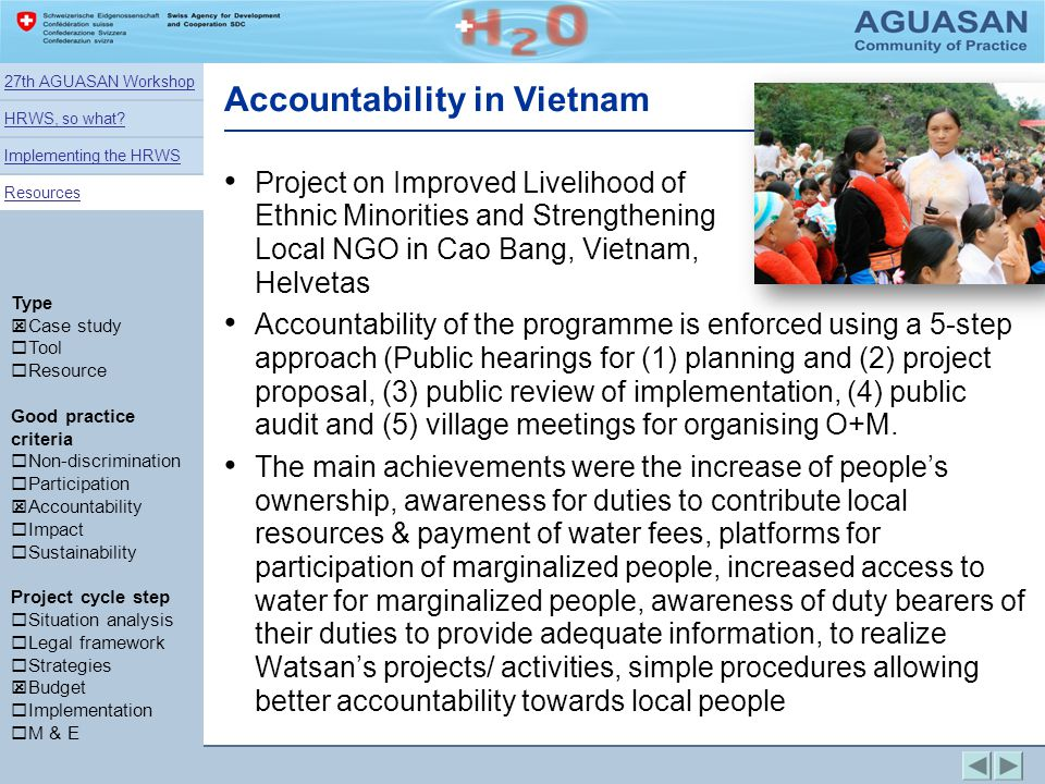 Accountability in Vietnam
