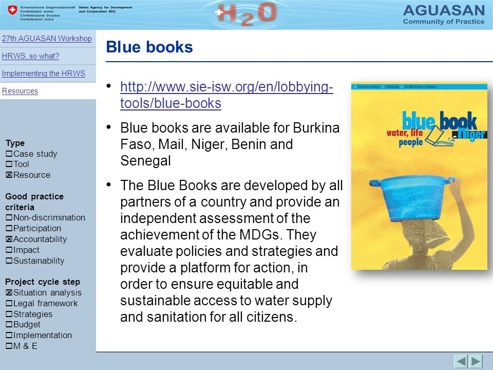 Blue books http://www.sie-isw.org/en/lobbying- tools/blue-books