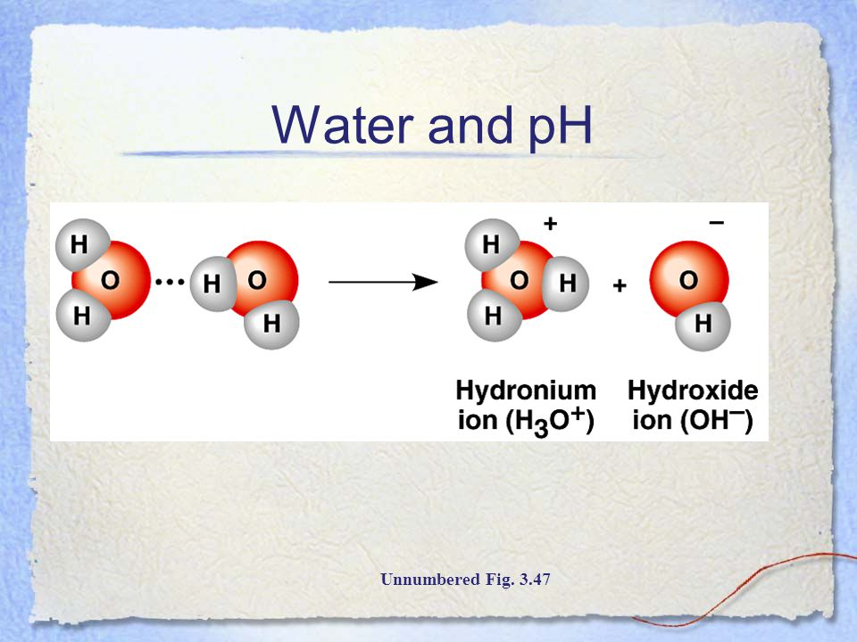 Water and pH Unnumbered Fig. 3.47