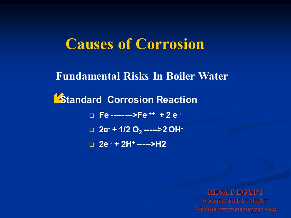 Fundamental Risks In Boiler Water Website :www.resategypt.com