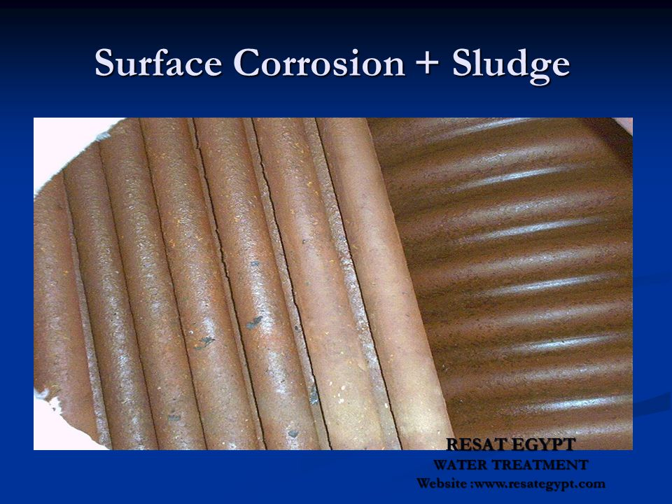Surface Corrosion + Sludge