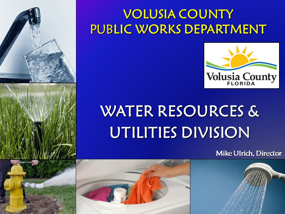 VOLUSIA COUNTY PUBLIC WORKS DEPARTMENT