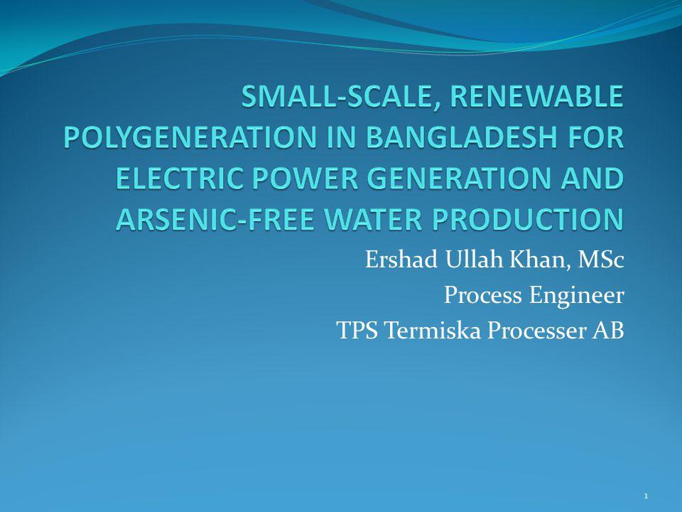 Ershad Ullah Khan, MSc Process Engineer TPS Termiska Processer AB
