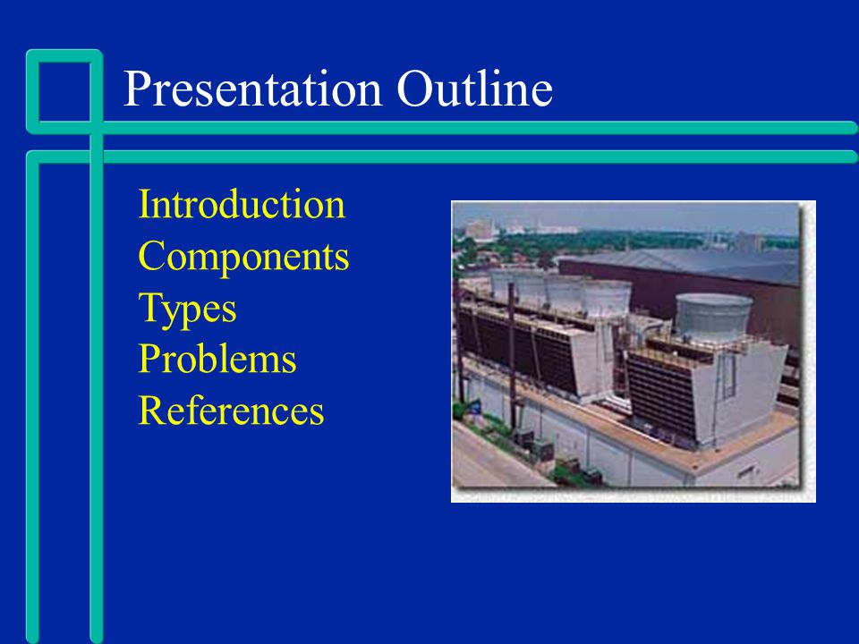 Presentation Outline Introduction Components Types Problems References
