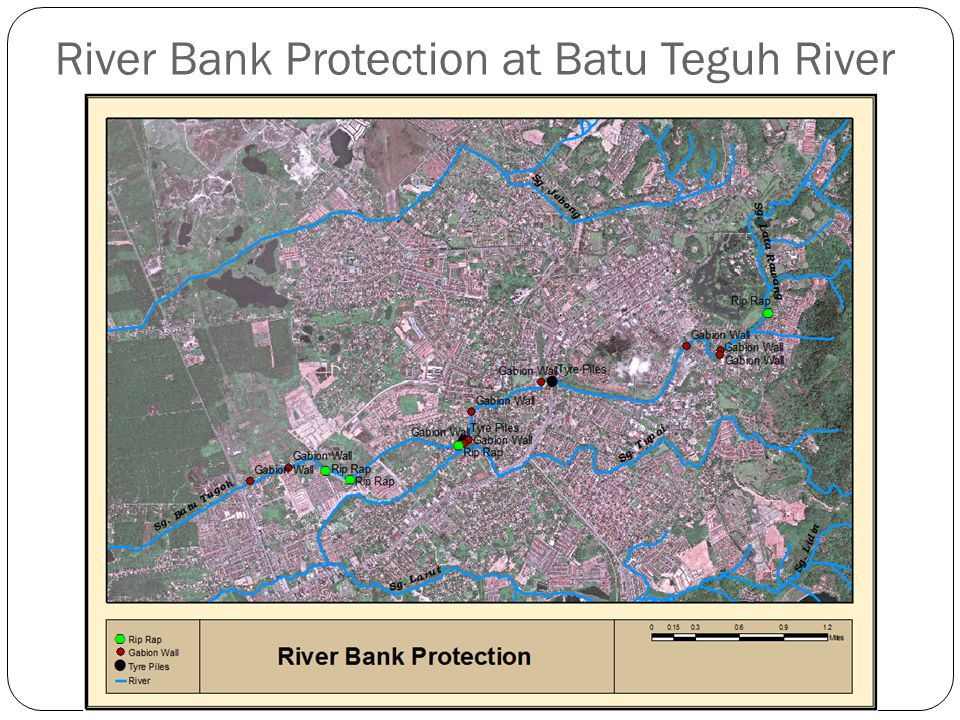 River Bank Protection at Batu Teguh River