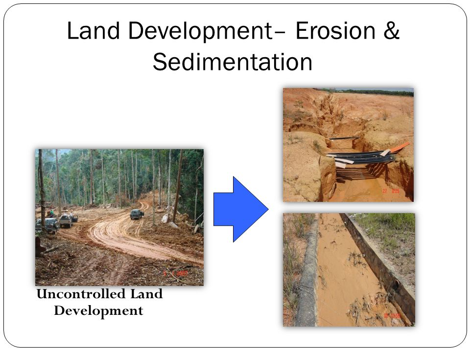 Land Development– Erosion & Sedimentation