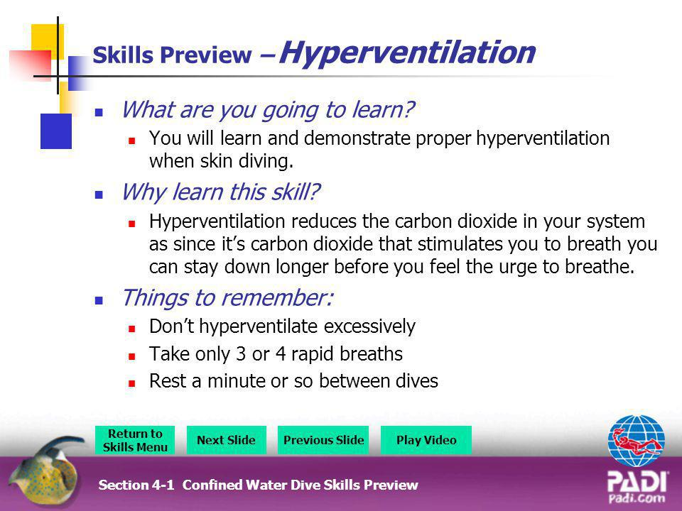 Skills Preview – Hyperventilation
