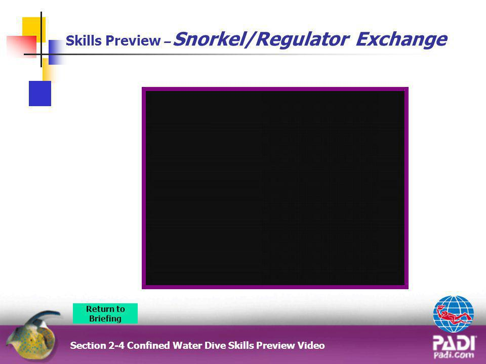 Skills Preview – Snorkel/Regulator Exchange