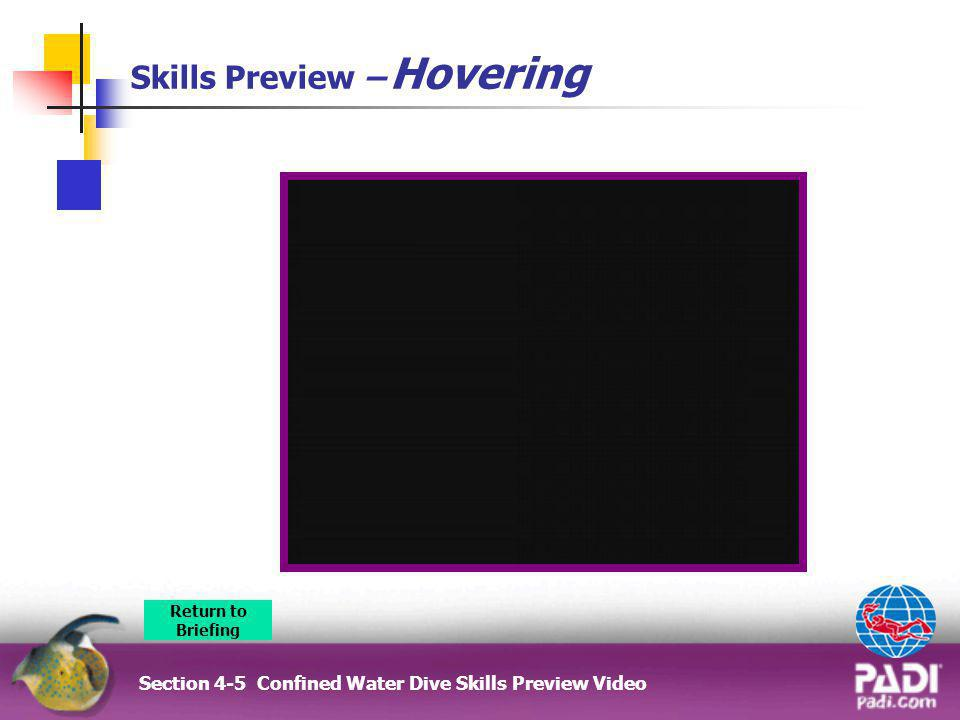 Skills Preview – Hovering