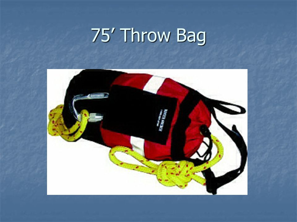 75' Throw Bag