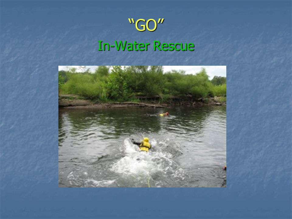 GO In-Water Rescue