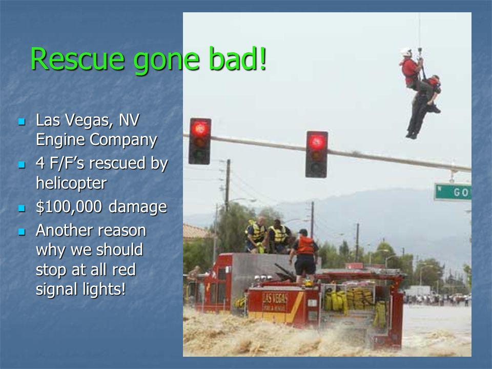 Rescue gone bad! Las Vegas, NV Engine Company
