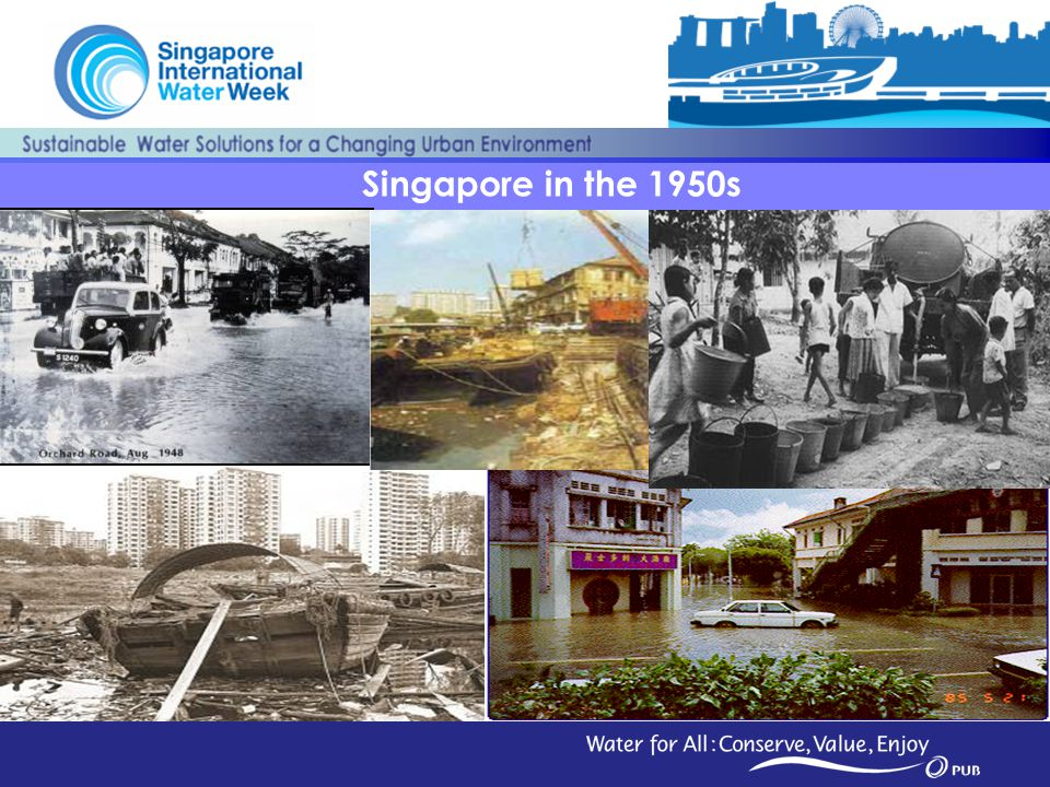 Singapore in the 1950s