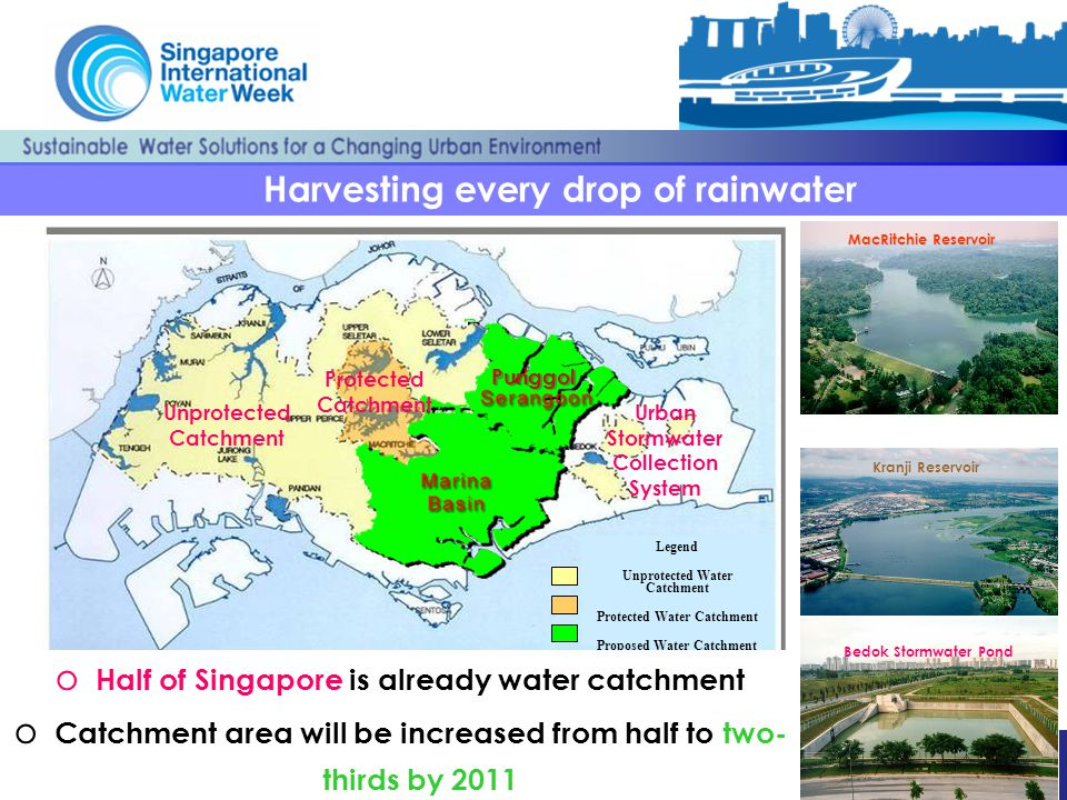 Harvesting every drop of rainwater