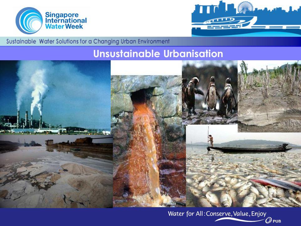 Unsustainable Urbanisation