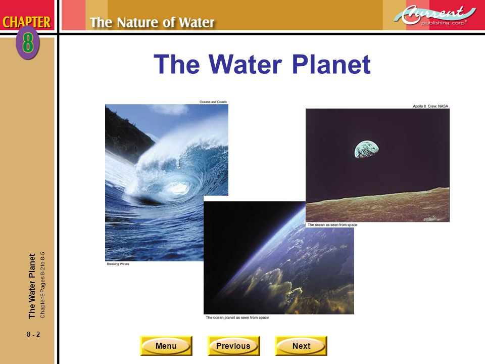 The Water Planet The Water Planet Chapter 8 Pages 8-2 to 8-5