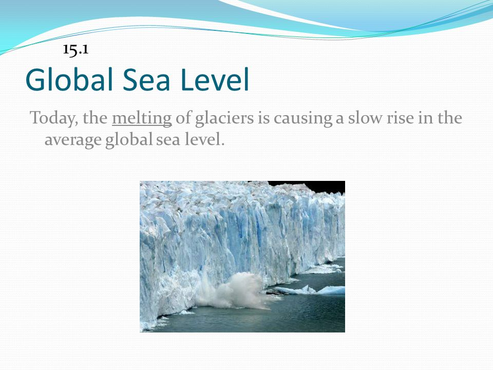 15.1 Global Sea Level.