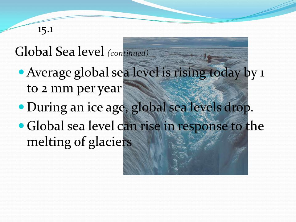 Global Sea level (continued)