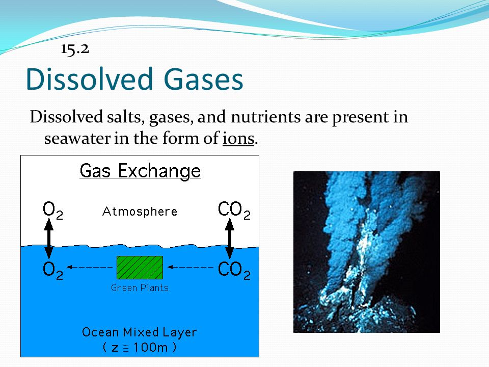 15.2 Dissolved Gases.