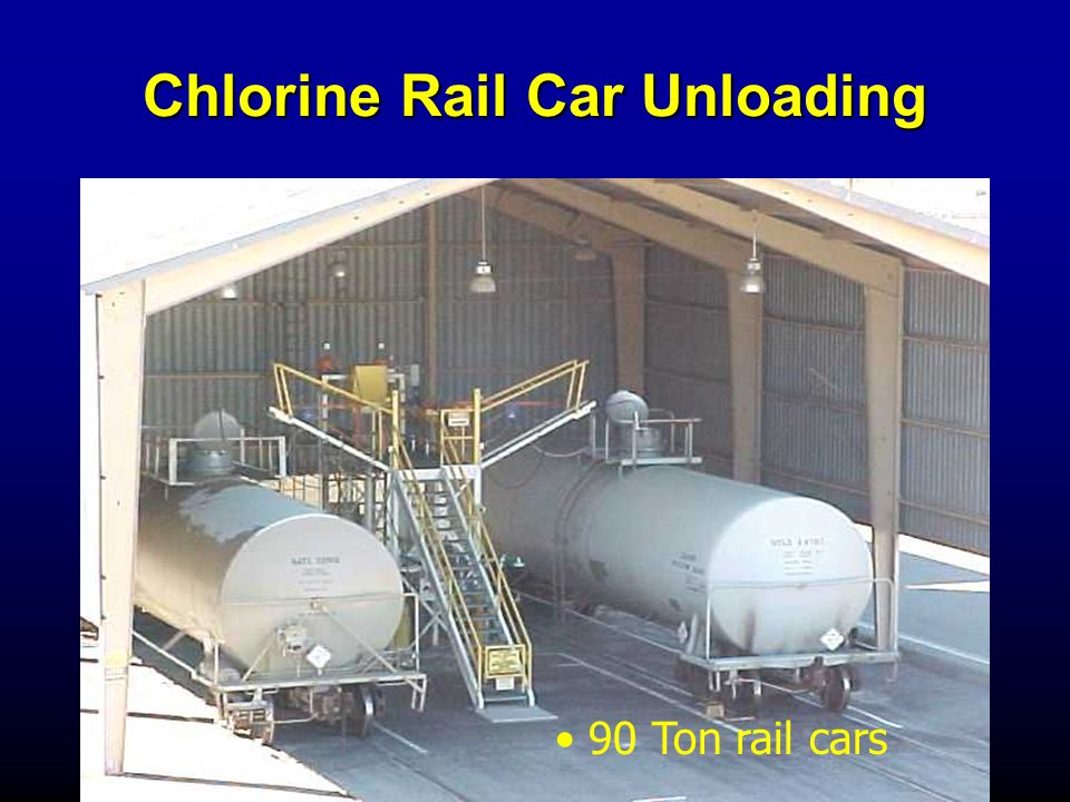Chlorine Rail Car Unloading