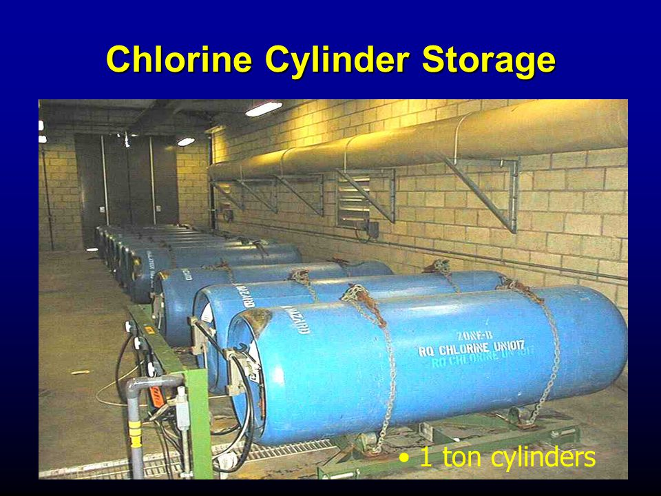 Chlorine Cylinder Storage