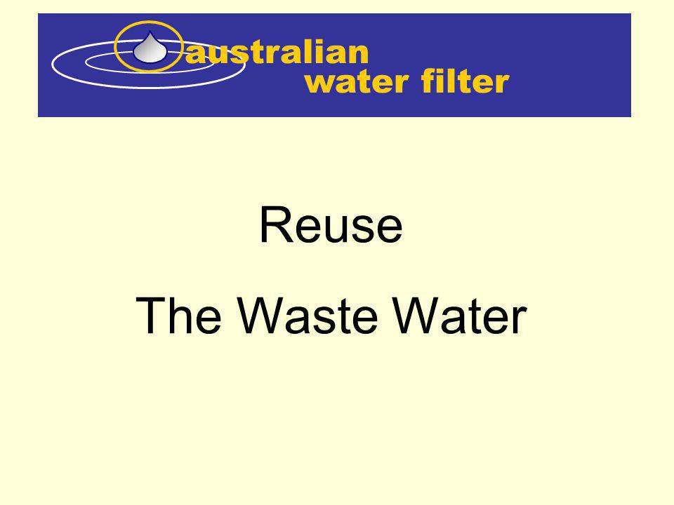 water filter australian Reuse The Waste Water